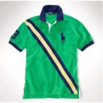 Camisa Polo Verde Dual Match Ralph Lauren - Cod 0065